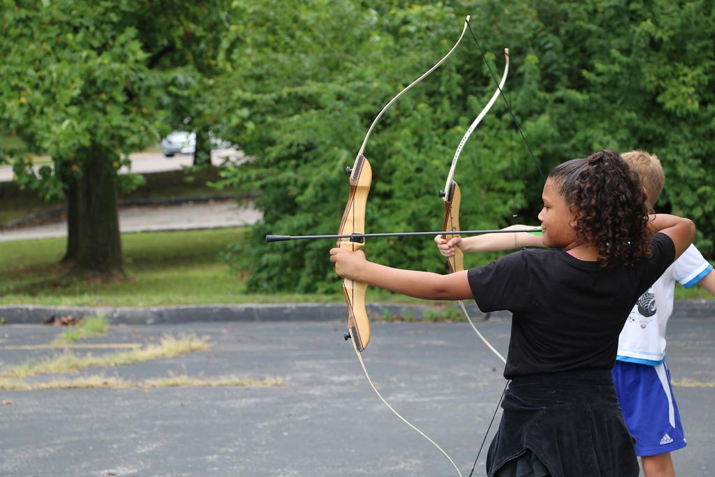 archery camp skills