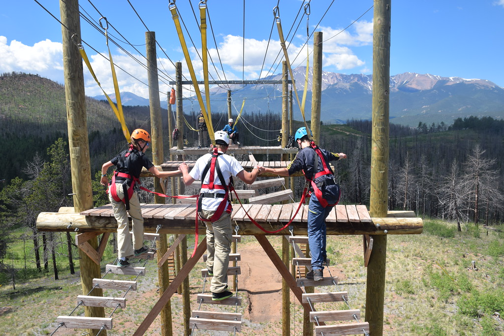 eagle lake overnight camp premier high ropes course